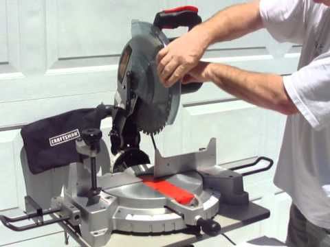 miter saw safety guard