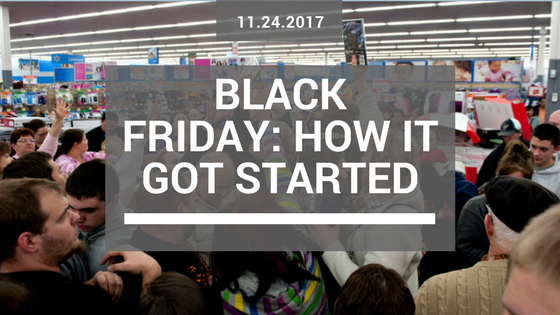 How Black Friday got started