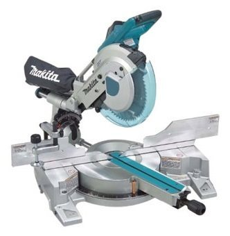 Picture of the makita ls1216l dual slider compound miter saw
