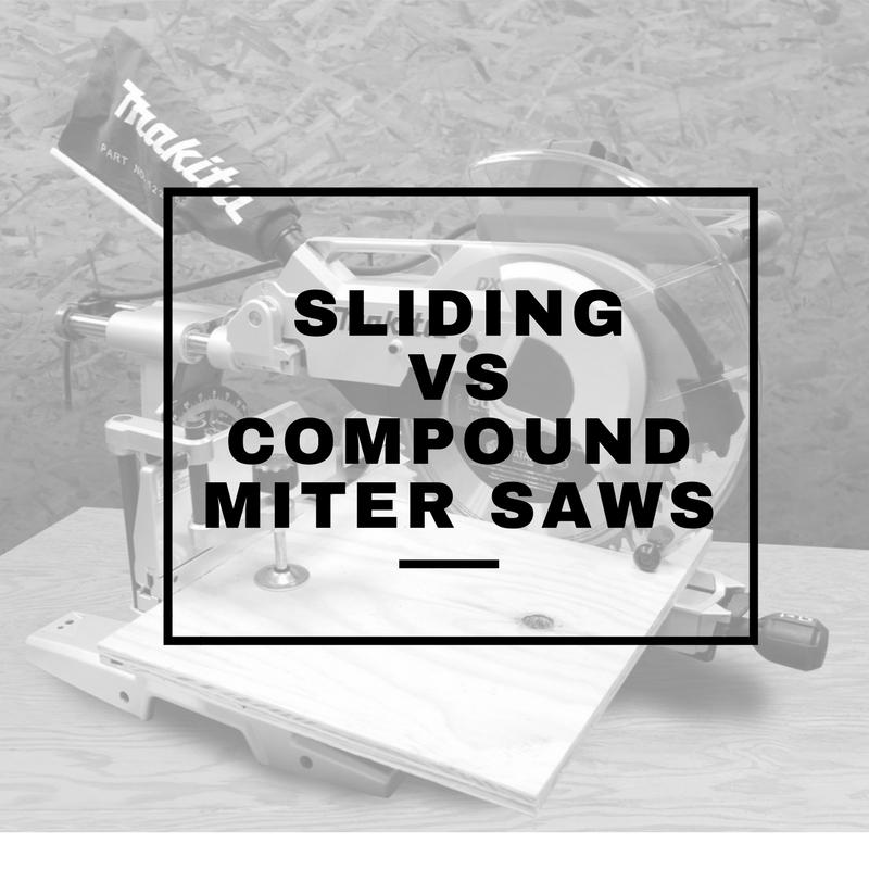 sliding vs compound miter saws