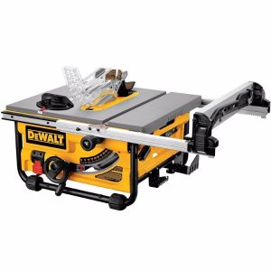 DEWALT DW745 10-Inch Compact Job-Site Table Saw with 20-Inch Max Rip Capacity - 120V (1)