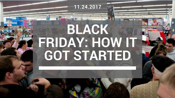 How Black Friday got started