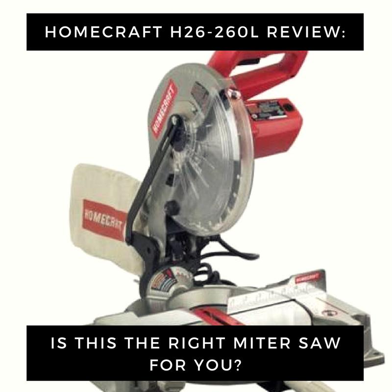 Homecraft H26-260L Miter Saw Image