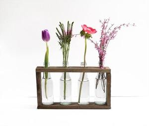 how to make a wooden Bottle Vase Holder