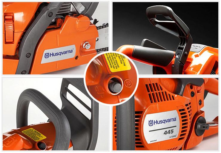 Husqvarna-445-best-gas-chainsaw-homeowners